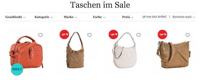 Lieblingstasche Sale