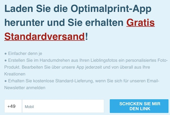 Optimalprint App