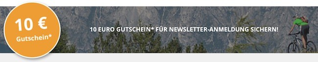 Radwelt-Shop Newsletter